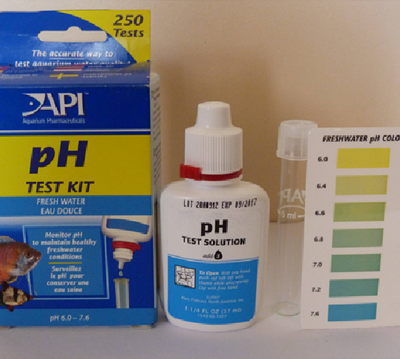 Low Range API freshwater pH Test Kit