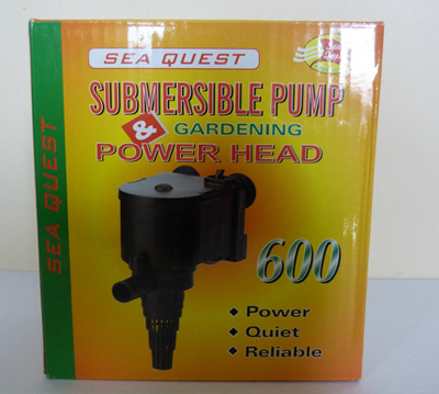 Sequest Submersible Pump – 600LPH